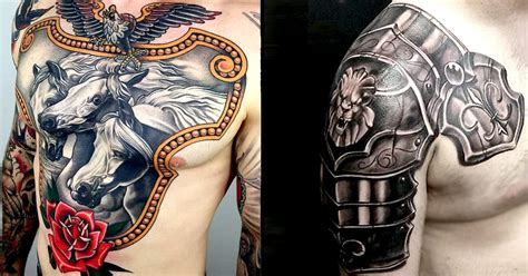 8 resolute armor tattoos tattoodo