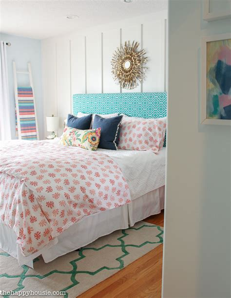 happy bedroom our coral navy teal master bedroom ensuite the