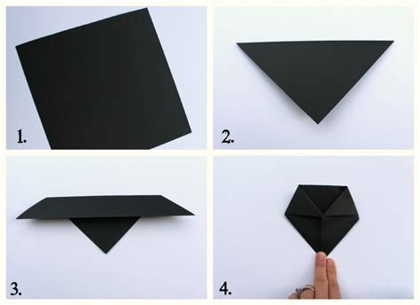 How To Make A Origami Bat - origami bats a and a glue gun