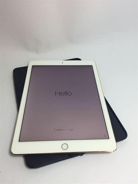 Air 3 64gb apple air 2 a1567 64gb wifi and 3g gold ios 9 3 5 ebay