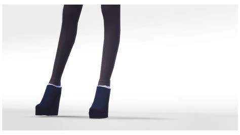 sims 4 platform heels my sims 4 blog echo platforms by nenpy