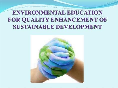 themes of environmental education environmental education ppt