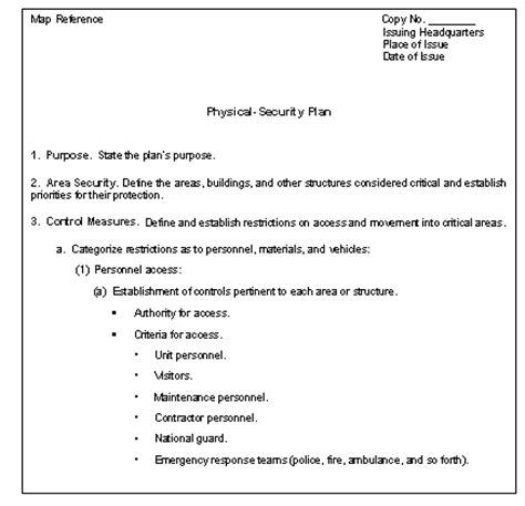 physical access policy template appendix f