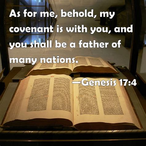 genesis 14 niv genesis 17 4 as for me behold my covenant is with you