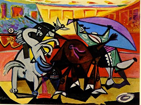 picasso paintings bullfight a bullfight pablo picasso wikiart org encyclopedia