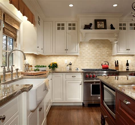 Buttercream Kitchen Cabinets Cabinets With Subtle Sophistication Plain Fancy Cabinetry