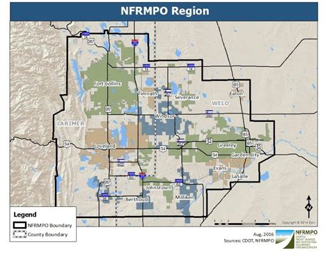planning and gis county of maps gis nfrmpo