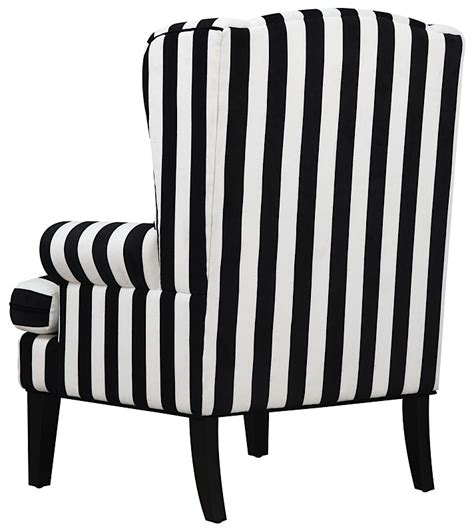 modern digs furniture wingback chair white black modern digs furniture