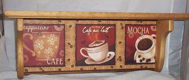 fat chef red wood wall shelf waiter bistro home decor ebay coffee wood wall shelf mocha cappuccino cafe home decor