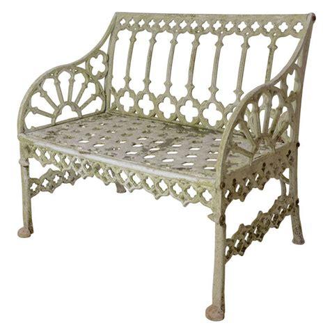 gothic garden bench english gothic style garden bench at 1stdibs