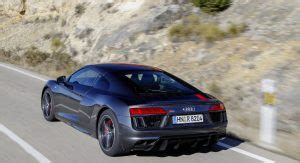 new audi r8 v10 rws: go rear drive and save yourself