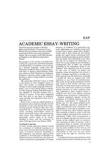 Essay About Academic Writing by Academic Essay Writings 187 Order Custom Essay