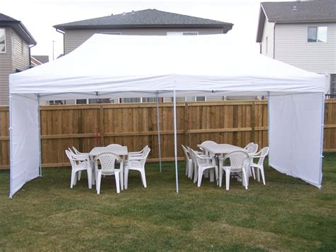 how many tables fit under a 20x20 tent calgary party rental tents