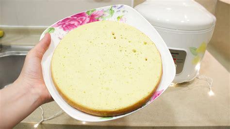 easy rice cooker cake recipe doovi