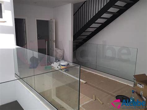 barandilla de vidrio barandilla de vidrio en utrerra para vivienda unifamiliar