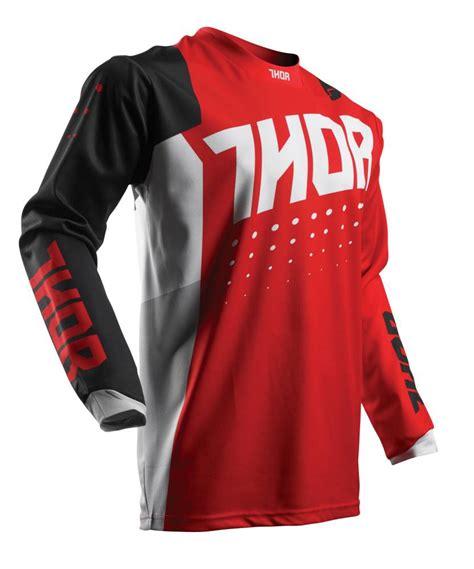 black motocross jersey motocross gear thor pulse aktiv red black jersey 2017