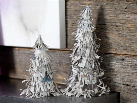 como hacer arboles de navidad con papel manualidades de navidad 50 ideas para decorar
