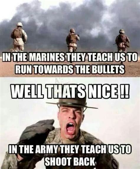 Army Navy Memes - marines vs army military humor
