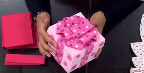 caja de regalo hecha de foami regalos de goma eva caja de regalo para san valentn