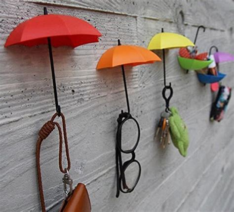 umbrella drop style clothes key hat robe hall wall hook