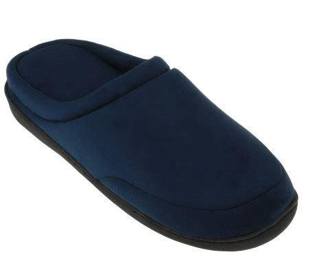 comfort pedic comfort pedic elite memory foam microfiber slippers page