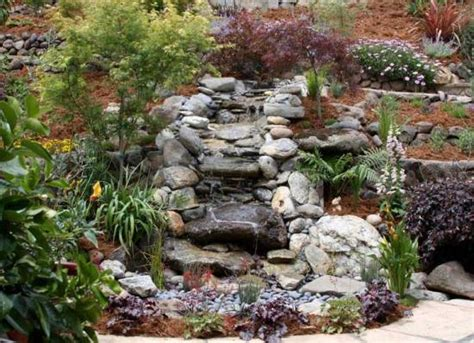 rock features in gardens 50 garden decorating ideas using rocks and stones