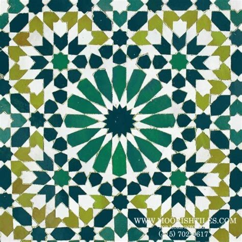 moroccan pattern name green zellige moroccan tile san francisco california