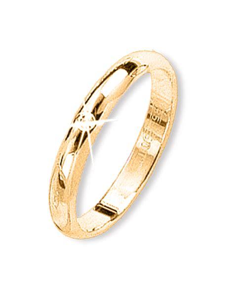 Trauringe 585 Gold by Rodnik Gold Trauring Gelbgold Mit Brillant Goldschmuck