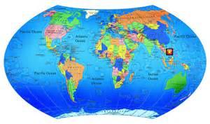 Vietnam On World Map by Chelyabinsk State University Vietnam