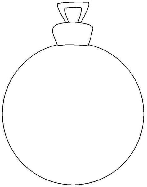 Printable Christmas Ornament Az Coloring Pages Ornaments To Color