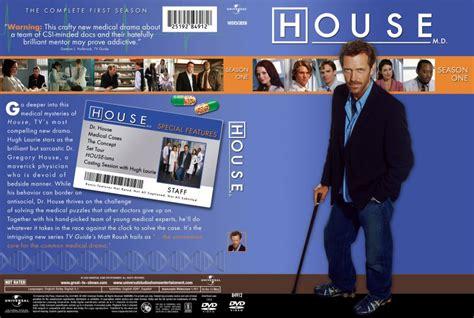 house md season 1 house md season 1 tv dvd custom covers house m d season one cover dvd covers