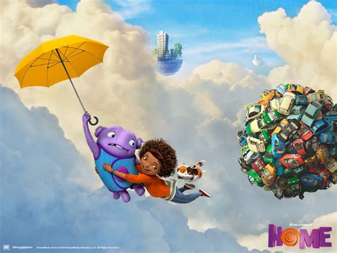 cartoon film oh home movie review the upcoming