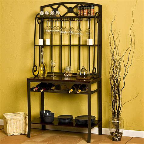 decorative wine racks for home upton home decorative bakers wine storage rack