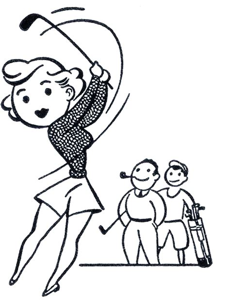 retro clip art retro golf clip art funny the graphics fairy