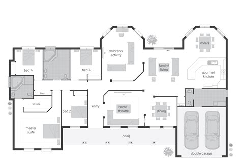 home designs australia floor plans small house plans australia modern house