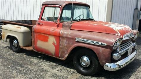 1958 chevrolet apache 31 series up truck all original