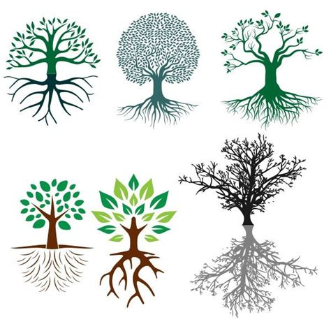 root art design zoetermeer tree roots cuttable design svg dxf eps use with