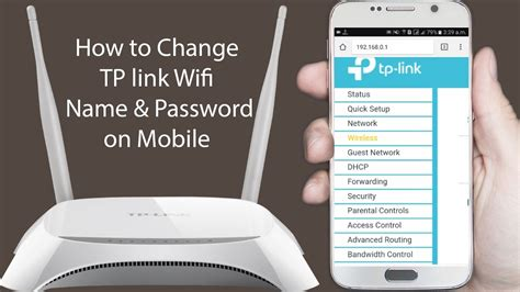 how to reset tp link wifi how to change tp link wifi router password in mobile
