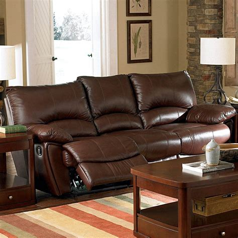 fine leather couches shop coaster fine furniture clifford dark brown leather
