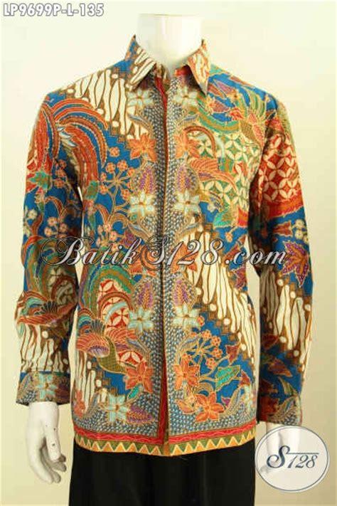 Batik Pria Masa Kini hem batik mewah lengan panjang harga murmer baju batik pria masa kini untuk til gagah