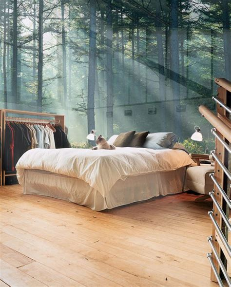 nature bedroom wallpaper amazing decorating tips to use wallpaper 22 ideas home