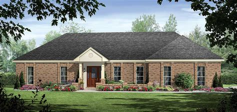 southern ranch house southern ranch 51025mm architectural designs house plans