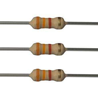 Resistor 3 3k Ohm 1 e projects 3 3k ohm resistors 1 4 watt 5 3k3 100