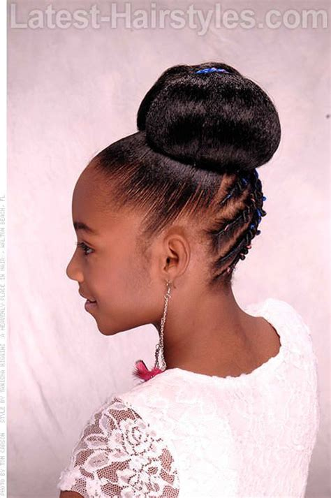 pretty buns for black woman 96 best braids images on pinterest
