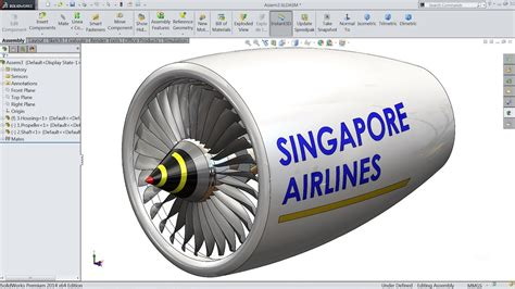 tutorial solidworks engine solidworks tutorial sketch jet engine in solidworks