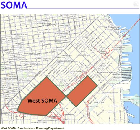 Xyz The W Soma San Francisco by Mayor S Office Of Housing And Community Development Map