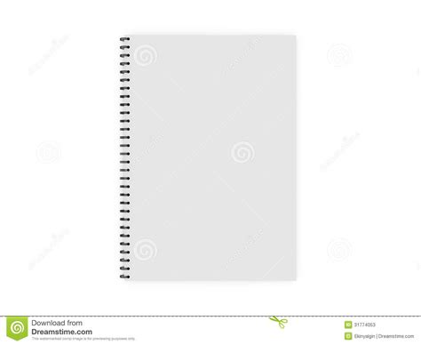 ring binder template blank ring binder stock photos image 31774053