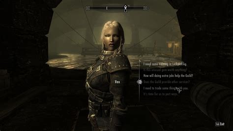 skyrim vex mod vex and astrid marry and follower as well as other npcs at