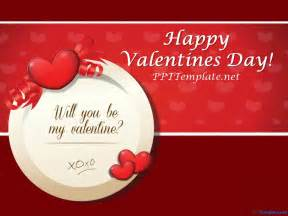 Templates For Valentines by Free S Day Ppt Templates Ppt Template
