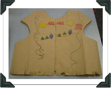 Thanksgiving Vests Paper Bags